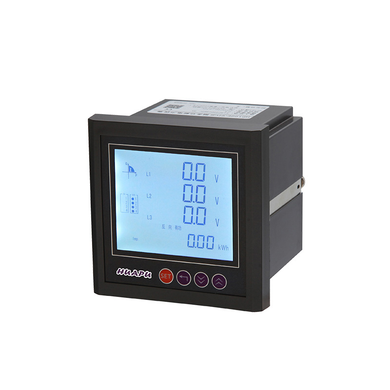 LCD Three-phase Multi-functional Electric Meter